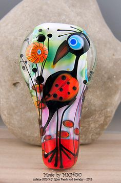 Hey, I found this really awesome Etsy listing at https://www.etsy.com/listing/237252859/long-nose-paradise-bird-art-glass