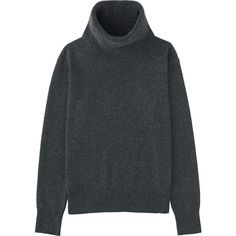 100% Cashmere Turtle Neck Sweater (1.973.665 VND) ❤ liked on Polyvore featuring tops, sweaters, clothing - ls tops, dark gray, polo neck sweater, cowlneck sweater, turtleneck sweater, uniqlo sweater and cashmere turtleneck