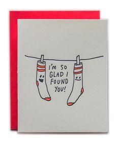 Ladyfingers Letterpress - I'm So Glad I Found You!