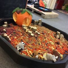 are all ready for with lots of themed activities this w… - Autumn İdeas Autumn Eyfs Activities, Harvest Activities, Nursery Activities, Halloween Activities, Preschool Rooms, Preschool Activities, Halloween Fun, Autumn Display Eyfs, Autumn Displays