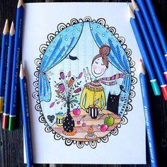 Домашний уют❤  #art #artist #draw #illustration #postcard #topcreator #top_draw #artwork #childrensbook #artfido #nawden #fineart #artnerd #art_empire #art_we_inspire #art_spotlight #arts4repost #artsanity #bestdm #talnts #arte_muse #mySTAEDTLER #иллюстрация #открытка
