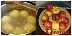 Výborný a úplne jednoduchý recept, ako z domácich jabĺčok vykúzliť výbornú sladkú večeru pre celú rodinu. Potrebujete na to len dve prísady a výsledok je naozaj veľmi chutný!