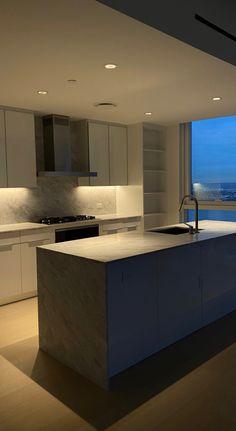 Dream Apartment, Apartment Interior, Apartment Design, Kitchen Interior, Apartment Kitchen, Home Room Design, Dream Home Design, Home Interior Design, Interior Modern