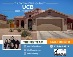 """We went under contract on this """"True Move - In Ready Gem!""""  . If you are looking to sell or buy a home, let The Fry Team make it simple for you...  CALL 623-748-3818 or visit us at www.FryTeamAZ.com for more information."""