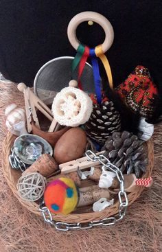 Heuristic Play Treasure Basket by CapturedEarth on Etsy