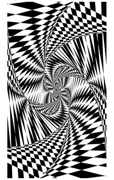 Free coloring page coloring-psychedelic-1bis. A incredible drawing ... to color for free