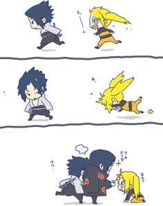 Naruko Sasuke and Itachi