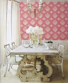 dining room table love