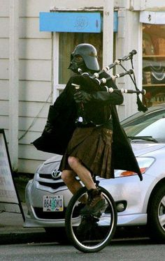 Meanwhile in a Scotland far far away... I cannot begin to think what the oddest thing about this picture is...