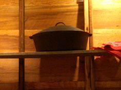 Cazuelas, ollas y cacerolas de cast iron para los potajes de invierno.
