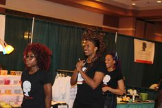 And then there was a hair show...check that hair out!