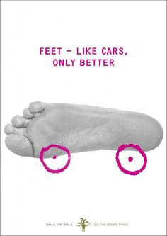 """""""Feet - like cars, only better"""" by Marina Willer"""