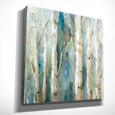 Loon Peak River Birch I Graphic Art on Wrapped Canvas & Reviews | Wayfair