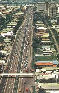 Edsa during 1970 Philippines Culture, Manila Philippines, Visayas, Mindanao, Filipina, Countries Of The World, Aesthetic Art, Old Photos, City Photo