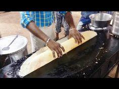 Huge Paper Dosa Amazing Mumbai Street Food   Indian Street Food   Street Food India 2015 [HD 1080p] #paperdosa #dosa #MumbaiStreetFood #Street #Food #Mumbai #India #IndianStreetFood