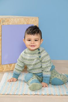 DG365-18 Henrik babysett | Dale Garn 18th, Knitting, Children, Boys, Pattern, Patterns, Threading, Young Children, Baby Boys
