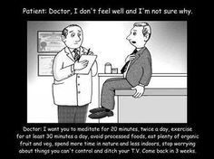 Be thine own physician...eat well!