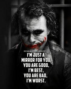I Am Quotes, Funny True Quotes, Karma Quotes, Reality Quotes, Wise Quotes, Mood Quotes, Attitude Quotes, Heath Ledger Joker Quotes, Best Joker Quotes