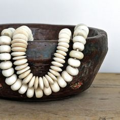Juxtaposition Home bone beads