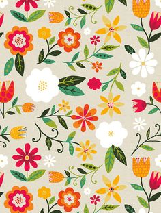 Art, illustration, + surface design portfolio of Michael Mullan. Art Floral, Motif Floral, Vintage Floral, Illustration Blume, Pattern Illustration, Pattern Paper, Pattern Art, Textures Patterns, Print Patterns