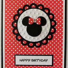 Disney Birthday Card, Cinderella Birthday, Girl Birthday Cards, 16th Birthday Gifts, Bday Cards, Mickey Mouse Birthday, Handmade Birthday Cards, Happy Birthday, Elmo Birthday