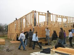help build a home with Habitat for Humanity