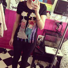 Photo by lesleighanne #moschino #love #mymoschino #shirt