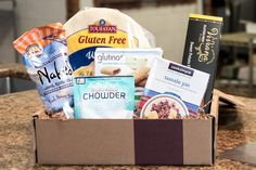 Confused about all the gluten-free products out there?  Sign up for a subscription service from Gfreely and discover new gluten free foods delivered to your door every month!