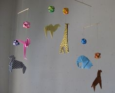 Origami Mobile - Animals and Modules