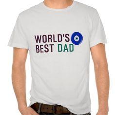 World s Best Dad with Turkish Evil Eye Tshirt