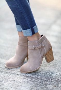 Get excited for fall with booties! So versatile and not to mention adorable. We're loving this trend!