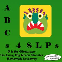 Go Away, Big Green Monster App - would be great for bullying/anxiety