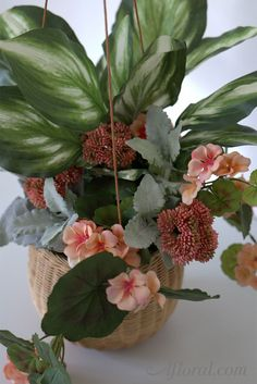 Geranium Silk Flower