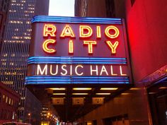 Radio City Music Hall, NY: You hit the booze pretty hard last night, so it's possible that you don't really feel like doing another bar hop at the moment. Instead, head to one of NYC's many concert venues (Radio City Music Hall, the Bowery Ballroom, and Beacon Theater top our list).