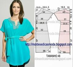 Tunic, patterns instructions