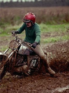 Could be under Automotive but I love the sweater and khakis in the mud. COULDN'T FIND A CREDIT!