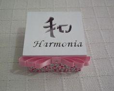 Caixa cartão com ideograma