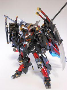 MECHA GUY: Frame Arms: NSG-Z0/D Magatsuki - Custom Build w/ LEDs