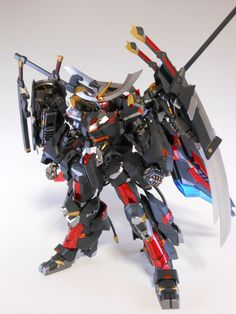 MECHA GUY: Frame Arms: NSG-Z0/D Magatsuki - Custom Build w/ LEDs