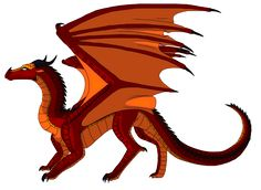 Ruby by WindstarofWindclan Wings Of Fire Dragons, Got Dragons, Clay Dragon, Dragon Art, Harry Potter Dragon, Fire Fans, Httyd, Glow, Fandom
