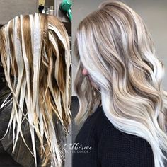 Leave dimension in the hair it's beautiful light and dark play off each o Blonde Hair With Brown Roots, Blonde Hair Looks, Brown Blonde Hair, Hair Lights, Light Hair, Hair Color And Cut, Very Long Hair, Hair Today, Hair Dos