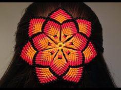 ▶ Macrame mandala flower - YouTube easy to follow  tutorial...