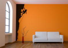 Rock Climbing Vinyl Wall Art Decor