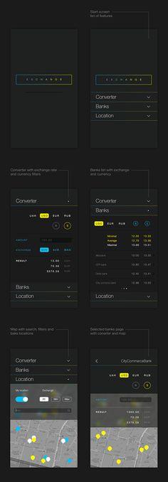 Exchange iPhone App on App Design Served