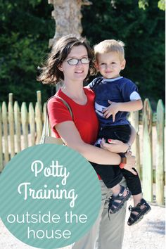 Potty Training Outside of the House