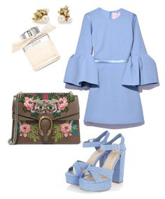 """Lovely evening"" by cristinnai on Polyvore featuring Gucci, Hadari, Ruth Tomlinson and Chloé"