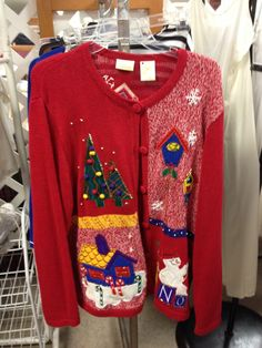 ugly Christmas Sweater! #ugly #christmas #sweater