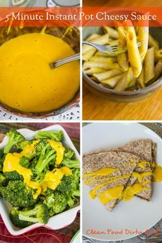 5 Minute Instant Pot Cheesy Sauce. Whole Food, Plant Based. Warning: This stuff is seriously addictive
