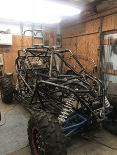 Go Kart Frame Plans, Diy Electric Car, Homemade Go Kart, Tube Chassis, Off Road Buggy, Badass Jeep, Trophy Truck, Sand Rail, Rail Car