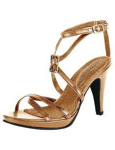Patrizia Dini - Sandalette taupe im Heine Online-Shop kaufen